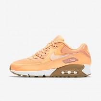 Chaussure Nike Air Max 90 Pour Femme Lifestyle Crépuscule Brillant/Gomme Marron Clair/Teinte Coucher De Soleil_NO. 325213-802
