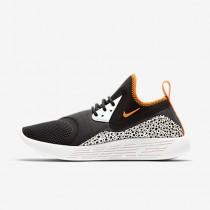 Chaussure Nike Lunarcharge Essential Bn Pour Femme Lifestyle Noir/Voile/Orange Argile_NO. 933797-081