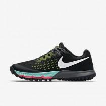 Chaussure Nike Air Zoom Terra Kiger 4 Pour Femme Running Noir/Volt/Hyper Turquoise/Blanc_NO. 880564-001
