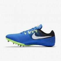Chaussure Nike Zoom Rival S 8 Pour Femme Running Hyper Cobalt/Noir/Vert Ombre/Blanc_NO. 806554-413