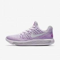 Chaussure Nike Lunarepic Low Flyknit 2 Iwd Pour Femme Running Violet Clair/Hyper Violet/Fuchsia Phosphorescent/Blanc_NO. 881674-501
