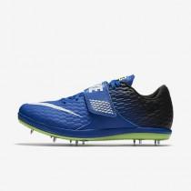Chaussure Nike High Jump Elite Pour Femme Running Hyper Cobalt/Noir/Vert Ombre/Blanc_NO. 806561-413