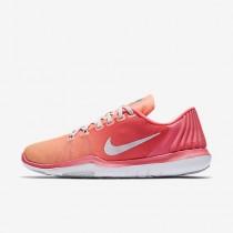 Chaussure Nike Flex Supreme Tr 5 Pour Femme Fitness Et Training Rose Coureur/Crépuscule Brillant/Rouge Lave Brillant/Platine Pur_NO. 898472-600