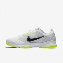 Chaussure Nike Court Air Zoom Ultra Pour Femme Tennis Blanc/Volt/Platine Pur/Noir_NO. 845046-101