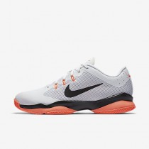 Chaussure Nike Court Air Zoom Ultra Pour Femme Tennis Blanc/Hyper Orange/Platine Pur/Noir_NO. 845046-100