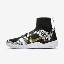 Chaussure Nike Court Flare Bhm Pour Femme Tennis Blanc/Noir/Or Métallique_NO. 848453-100