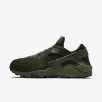Chaussure Nike Air Huarache Pour Homme Lifestyle Kaki Cargo/Kaki Cargo/Noir_NO. 318429-308