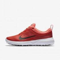 Chaussure Nike Akamai Pour Femme Golf Orange Max/Rouge Lave Brillant/Noir_NO. 818732-800