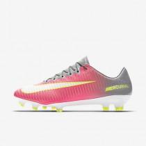 Chaussure Nike Mercurial Vapor Xi Fg Pour Femme Football Hyper Rose/Gris Loup/Aigre/Blanc_NO. 844235-610
