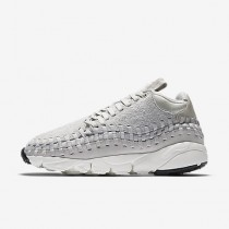 Chaussure Nike Air Footscape Woven Chukka Qs Pour Homme Lifestyle Beige Clair/Blanc Sommet/Beige Clair_NO. 913929-002