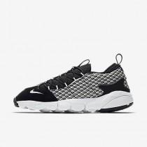 Chaussure Nike Air Footscape Nm Jacquard Pour Homme Lifestyle Noir/Noir/Blanc_NO. 898007-001