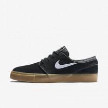 Chaussure Nike Sb Zoom Stefan Janoski Pour Homme Lifestyle Noir/Gomme Marron Clair/Blanc_NO. 333824-021