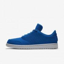 Chaussure Nike Jordan 1 Flight 5 Low Pour Homme Lifestyle Royal Équipe/Gris Loup/Royal Équipe_NO. 888264-403