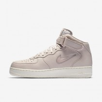 Chaussure Nike Lab Air Force 1 Mid Jewel Pour Homme Lifestyle Rouge Siltite/Voile/Rouge Siltite_NO. 941913-600