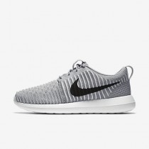 Chaussure Nike Roshe Two Flyknit Pour Homme Lifestyle Gris Loup/Blanc/Bleu Gamma/Noir_NO. 844833-002