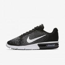 Chaussure Nike Air Max Sequent 2 Pour Homme Running Noir/Gris Foncé/Gris Loup/Blanc_NO. 852461-005