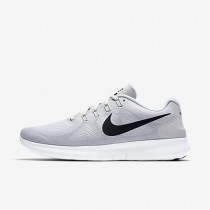Chaussure Nike Free Rn 2017 Pour Homme Running Blanc/Platine Pur/Noir_NO. 880839-101