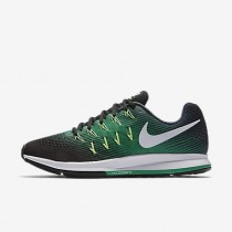 new concept 8ee6c 66ab6 Chaussure Nike Air Zoom Pegasus 33 Pour Homme Running Marine  Arsenal Noir Vert Stade
