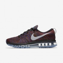 Chaussure Nike Flyknit Air Max Pour Homme Running Noir/Bleu Moyen/Rouge Équipe/Blanc_NO. 620469-016