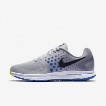 Chaussure Nike Air Zoom Span Pour Homme Running Gris Loup/Hyper Cobalt/Platine Pur/Noir_NO. 852437-006