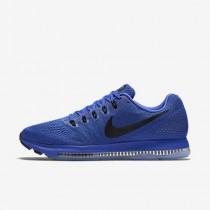 Chaussure Nike Zoom All Out Low Pour Homme Running Bleu Souverain/Noir/Platine Pur/Noir_NO. 878670-400