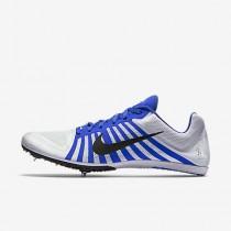 Chaussure Nike Zoom D Pour Homme Running Blanc/Bleu Coureur/Noir_NO. 819164-100