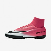 Chaussure Nike Mercurialx Victory Vi Tf Pour Homme Football Rose Coureur/Blanc/Noir_NO. 903614-601