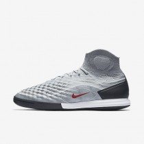 Chaussure Nike Magistax Proximo Ii Ic Pour Homme Football Gris Froid/Noir/Gris Loup/Rouge Intense_NO. 843957-060