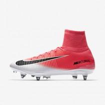 Chaussure Nike Mercurial Superfly V Dynamic Fit Sg-Pro Pour Homme Football Rose Coureur/Blanc/Noir_NO. 831956-601