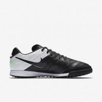 Chaussure Nike Tiempo Mystic V Tf Pour Homme Football Noir/Blanc/Vert Electro/Noir_NO. 819224-002