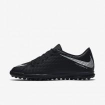 Chaussure Nike Hypervenomx Phade 3 Tf Pour Homme Football Noir/Noir/Cramoisi Total/Argent Métallique_NO. 852545-001
