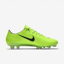 Chaussure Nike Mercurial Vapor Xi Fg Pour Homme Football Vert Électrique/Citron Flash/Blanc/Noir_NO. 831958-303