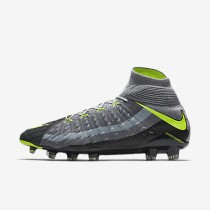 Chaussure Nike Hypervenom Phantom 3 Df Se Fg Pour Homme Football Gris Loup/Discret/Anthracite/Volt_NO. 882008-070
