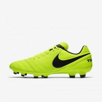 Chaussure Nike Tiempo Genio Ii Leather Fg Pour Homme Football Volt/Volt/Noir_NO. 819213-707