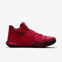 Chaussure Nike Kyrie 3 Pour Homme Basketball Rouge Université/Rouge Équipe/Noir_NO. 852395-600