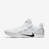 Chaussure Nike Kobe A.D. Nxt Pour Homme Basketball Blanc/Noir_NO. 882049-100