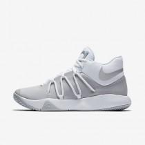 Chaussure Nike Kd Trey 5 V Pour Homme Basketball Blanc/Platine Pur/Chrome_NO. 897638-100