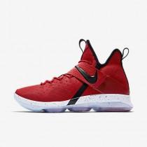 Chaussure Nike Lebron Xiv Pour Homme Basketball Rouge Université/Blanc/Noir_NO. 852405-600