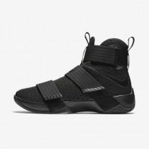Chaussure Nike Zoom Lebron Soldier 10 Pour Homme Basketball Noir/Noir_NO. 44374-001