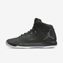 Chaussure Nike Air Jordan Xxxi Pour Homme Basketball Noir/Blanc/Anthracite_NO. 845037-010