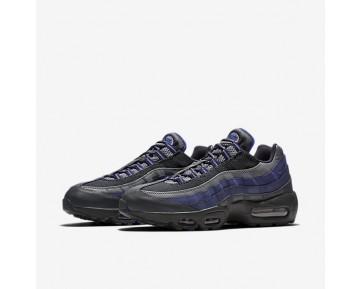 Chaussure Nike Air Max 95 Essential Pour Homme Lifestyle Anthracite/Bleu Binaire/Gris Froid/Bleu Souverain_NO. 749766-011