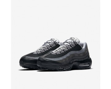 Chaussure Nike Air Max 95 Essential Pour Homme Lifestyle Noir/Anthracite/Gris Froid/Gris Loup_NO. 749766-014