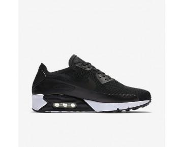 Chaussure Nike Air Max 90 Ultra 2.0 Flyknit Pour Homme Lifestyle Noir/Noir/Blanc/Noir_NO. 875943-004