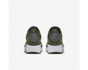 Chaussure Nike Air Max 90 Ultra 2.0 Flyknit Pour Homme Lifestyle Vert Brut/Blanc/Noir/Gris Foncé_NO. 875943-300