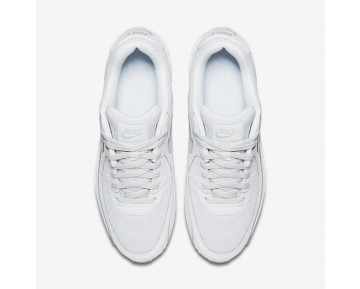 Chaussure Nike Air Max 90 Essential Pour Homme Lifestyle Blanc/Platine Pur_NO. 537384-134