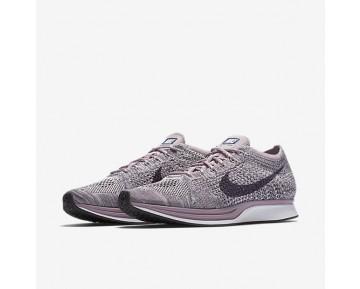 Chaussure Nike Flyknit Racer Pour Homme Lifestyle Violet Clair/Brume Prune/Blanc/Raisin Sec Foncé_NO. 526628-500