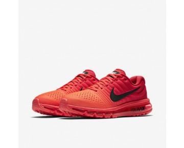 Chaussure Nike Air Max 2017 Pour Homme Lifestyle Cramoisi Brillant/Rouge Université/Noir_NO. 849559-602