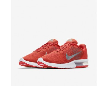 Chaussure Nike Air Max Sequent 2 Pour Homme Lifestyle Orange Max/Gris Froid/Rouge Université/Gris Froid Métallique_NO. 852461-800