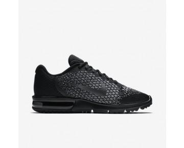Chaussure Nike Air Max Sequent 2 Pour Homme Lifestyle Noir/Gris Foncé/Gris Loup/Hématite Métallique_NO. 852461-001