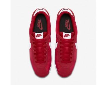 Chaussure Nike Classic Cortez Nylon Pour Homme Lifestyle Rouge Université/Noir/Blanc_NO. 807472-600